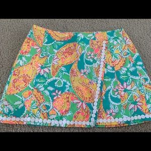 Lilly Pulitzer Pop Goes the Lemur Skort